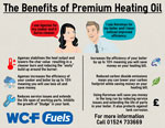Premium heating oil