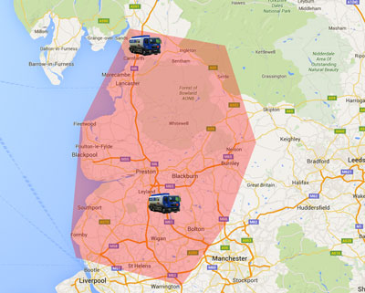 Kerosene heating oil Lancashire delivery area