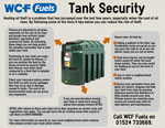 Heating oil tank security hints and tips
